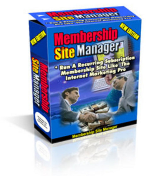Product picture Membership Site Manager 2010